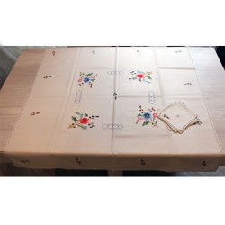 Lagartera Tea Tablecloth