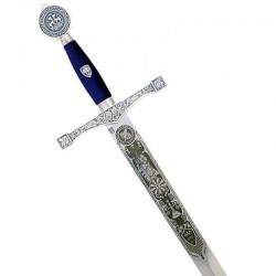 Espada Excálibur-Plata-Grabado Profundo-Marto_Toledo