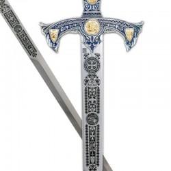 Espada Templarios-Plata-Grabado Profundo-Marto_Toledo