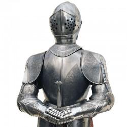 Armadura-Medieval_Grabado al Ácido-Marto_Toledo