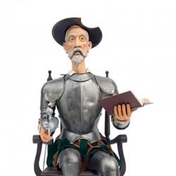 Armadura-Medieval_Don Quijote Sentado-Marto_Toledo