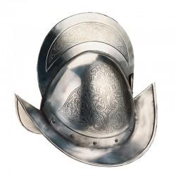 Conqueror Capacete Engraving
