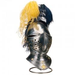Spanish Helmet Engraved