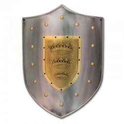 Escudo Medieval-Corona Rey Arturo_Marto-Toledo