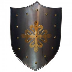 Escudo Medieval-Cruz Calatrava Latón_Marto-Toledo