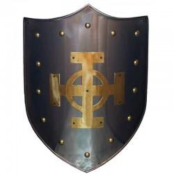 Escudo Medieval-Cruz Celta Latón_Marto-Toledo