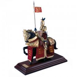 Armadura-Medieval-Caballo_Casco Dragon Oro-Marto_Toledo