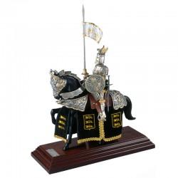 Silver Dragon Horse Armor
